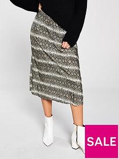 v-by-very-plisse-elasticated-waist-midi-skirt