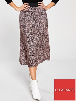 v-by-very-plisse-elasticated-waist-midi-skirt