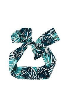 michelle-keegan-leaf-print-headscarf-headband-multi