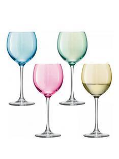 lsa-international-polka-wine-glasses-ndash-set-of-4