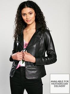 ted-baker-yaswin-zip-hem-leather-biker-jacket-black
