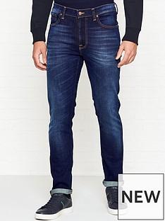 nudie-jeans-lean-dean-slim-fit-worn-wash-jeansnbsp--indigo