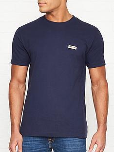 nudie-jeans-daniel-logo-t-shirt-navy