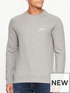 nudie-jeans-samuel-logo-sweatshirt-grey