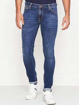 nudie-jeans-skinny-lin-skinny-fit-authentic-wash-jeans-blue