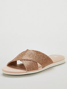 v-by-very-holly-sparkle-cross-strap-sliders-rose-gold