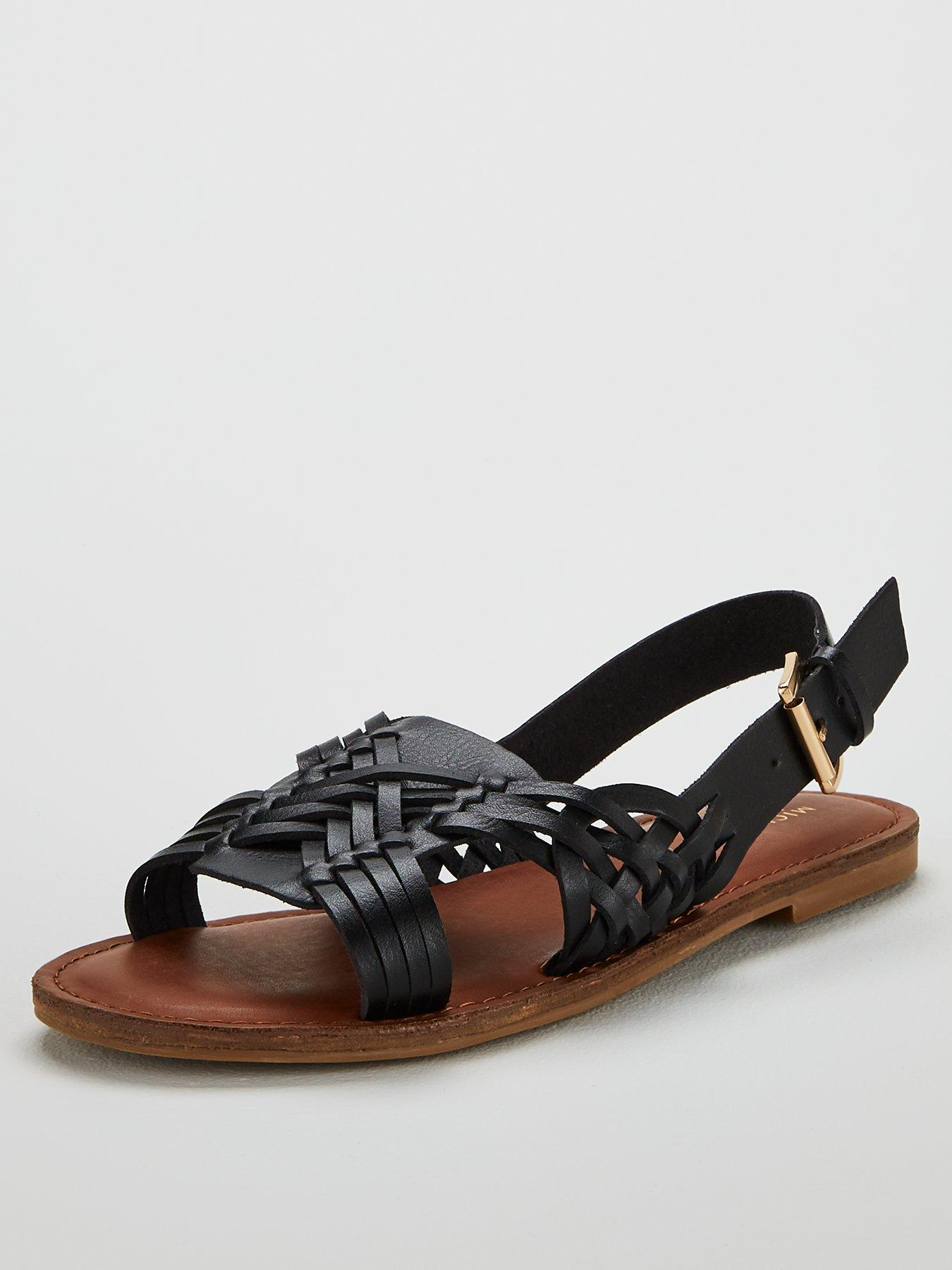 Clothes, Shoes & Accessories The Best Black Female Sandals Uk Size 6.5