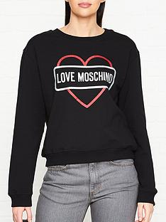 love-moschino-glitter-logo-sweatshirt-black