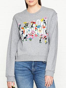 love-moschino-floral-printed-logo-sweatshirt-grey