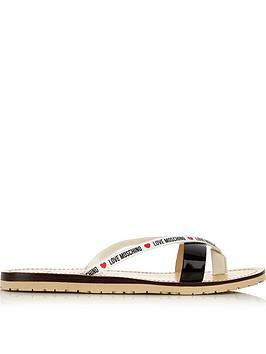 love-moschino-logo-double-strap-flip-flop-black