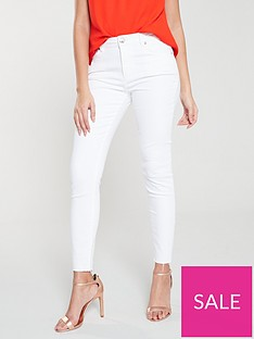 ted-baker-catarsi-uneven-raw-hem-skinny-jeans-white
