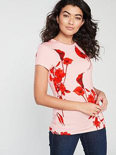 250e7cefe Ted Baker Dillia Fantasia Fitted Top - Pale Pink