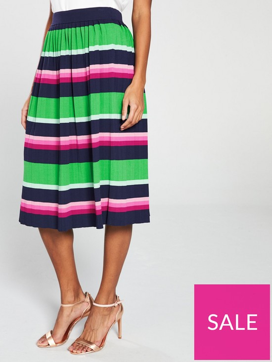 81018875f Ted Baker Aliccio Knitted Midi Skirt | very.co.uk