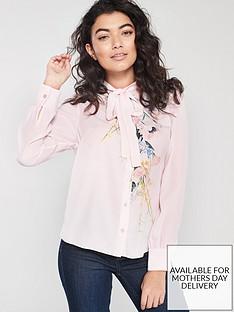ted-baker-lovii-eleganti-print-ruffle-blouse-nude-pink