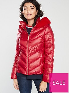 ted-baker-laiya-light-weight-padded-jacketnbsp--red