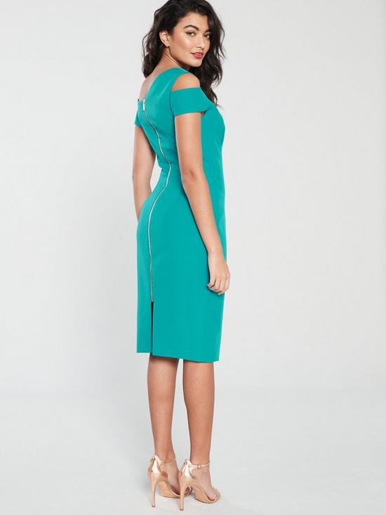 626c9dc751c2 Ted Baker Yandal Cut Out Shoulder Bodycon Dress - Turquoise