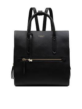 radley-arlington-court-large-black-ziptop-backpack-black