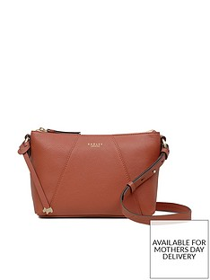 Radley Wood Street Medium Zip Top Cross Body Bag - Auburn 738352d123414