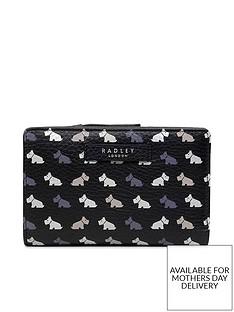 radley-black-multi-dog-medium-zip-top-purse-multi