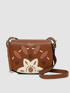 496f9e4cebd079 Radley Radley Kempton Market Small Saddle Indus Tan Crossbody Bag