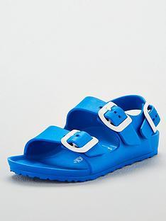 birkenstock-boys-blue-milano-eva-sandal