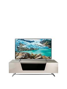 Alphason Chromium 120 cm TV Unit - Ivory - fits up to 55 inch TV