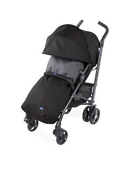 Chicco Liteway 3 Stroller- Jet Black