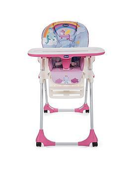 Chicco Polly Easy Highchair- Unicorn