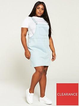 v-by-very-curve-denim-pinafore-dress-blue-wash