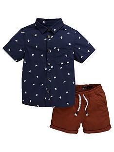 mini-v-by-very-boys-cactus-shirt-amp-short-set-multi
