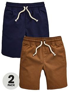 mini-v-by-very-boys-2-pack-ripstop-pull-on-shorts-multi