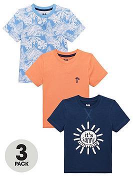 mini-v-by-very-boys-3-pack-its-sunny-mummypalm-print-t-shirts-multi