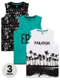 v-by-very-boys-3-pack-epicsplatterparadise-palm-vests-multi