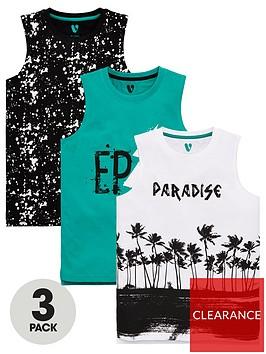 v-by-very-boys-3-pack-epicsplatterparadise-palm-vests-multi