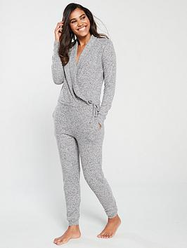 v-by-very-snit-lounge-jumpsuit-grey