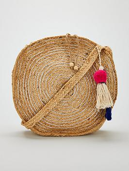 v-by-very-jody-round-woven-metallic-bag