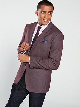 skopes-allessandronbsptextured-suit-jacket-red-melange