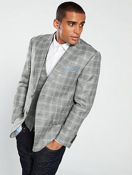 skopes-syracuse-check-suit-jacket-grey
