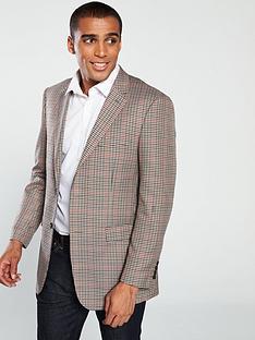 skopes-hardwicknbspcheck-jacket-brown