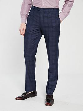 skopes-mosley-check-suit-trouser-blue