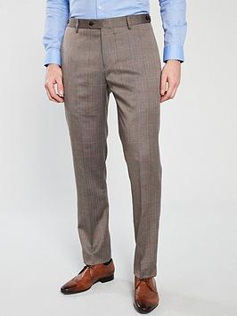 skopes-dunstallnbspcheck-suit-trouser-brown