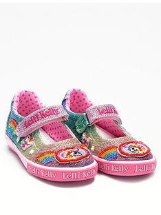 94cd0ebe6c6 Lelli Kelly Unicorn Rainbow Sparkle Dolly Shoe