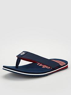 timberland-flip-flop-sandals-navyred