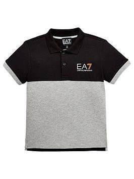 ea7-emporio-armani-boys-colourblock-jersey-polo-shirt-ndash-black