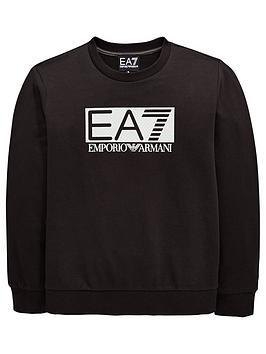 ea7-emporio-armani-boys-high-visibility-crew-neck-sweat-black