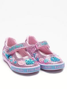 f8f6d656bdf Lelli Kelly Glitter Daisy Dolly Shoes - Pink