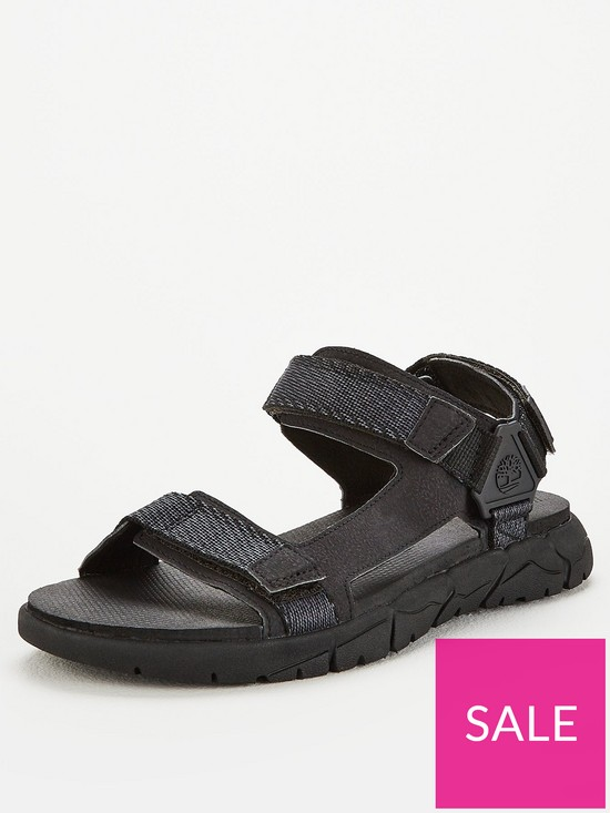 969ff85a9d80f Timberland Windham Trail Sandal - Black | very.co.uk