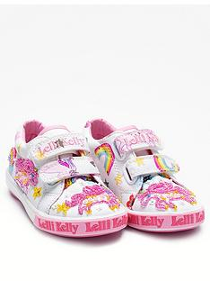 lelli-kelly-unicorn-touch-fastening-shoes-white