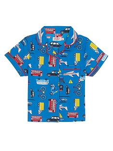 cath-kidston-boys-wheels-and-wings-woven-pyjama-set
