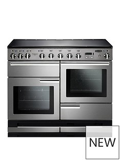 rangemaster-pdl110eiss-professional-deluxe-110cmnbspwide-electric-range-cooker-with-induction-hob-stainless-steel